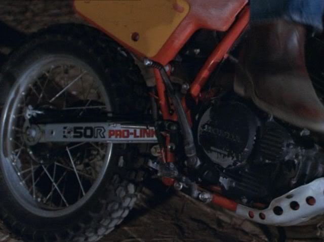 XR350R in Airwolf