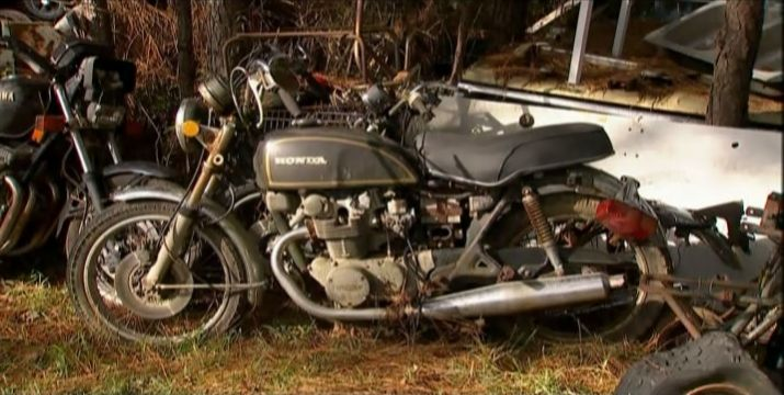 CB500 in American Pickers