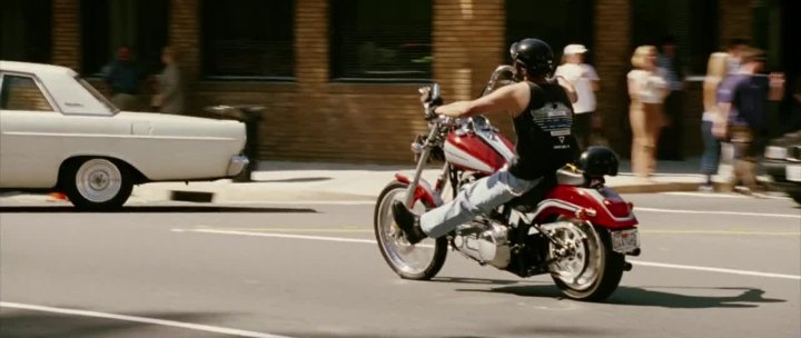 Softail Deuce in American Wedding