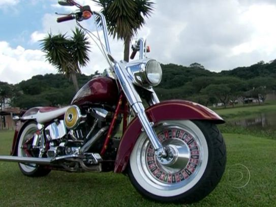Softail Fat Boy in Auto Esporte