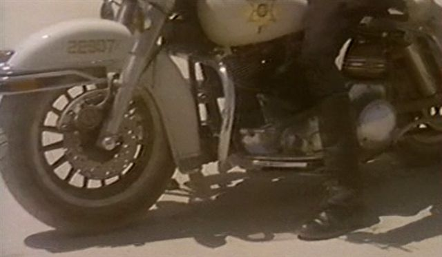 Electra Glide in Beyond the Law