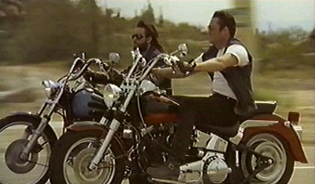 Softail Fat Boy in Beyond the Law