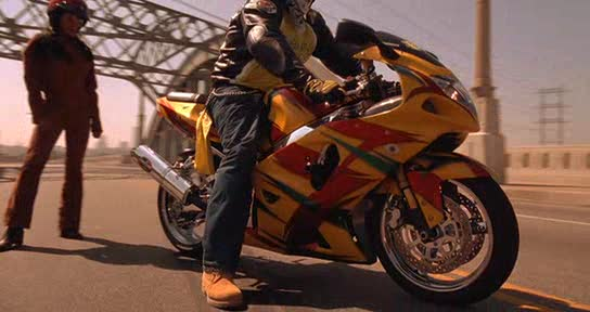 GSX-R750 in Movies