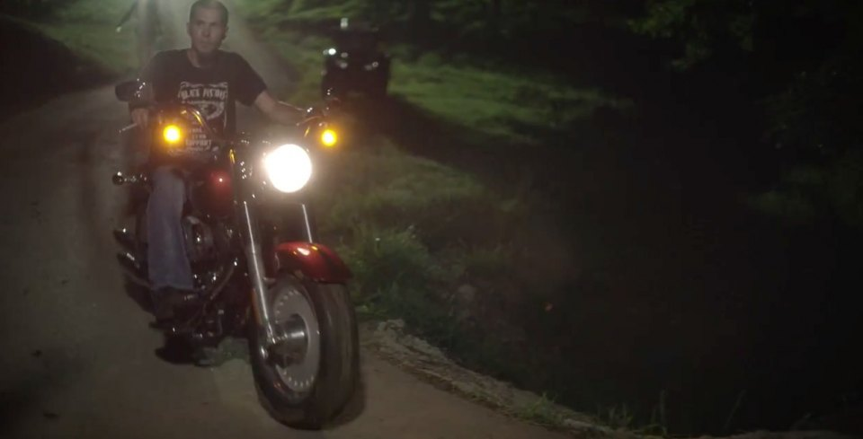 Softail Fat Boy in Brantley Gilbert: Small Town Throwdown