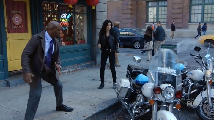 Road King in Brooklyn Nine-Nine