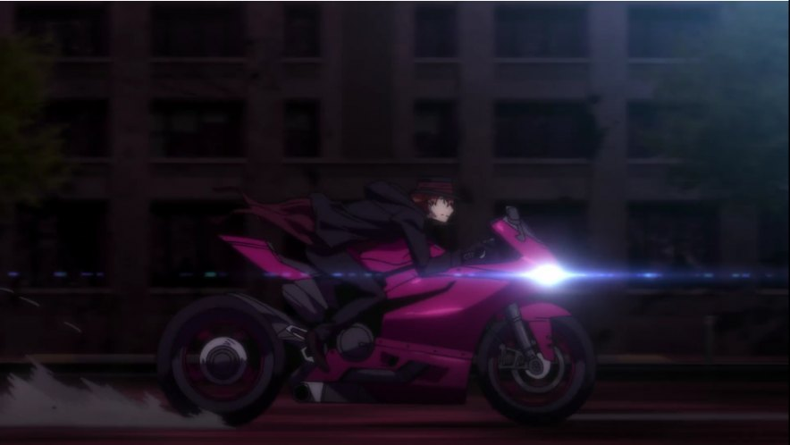 1299 Panigale in Bungou Stray Dogs: Dead Apple