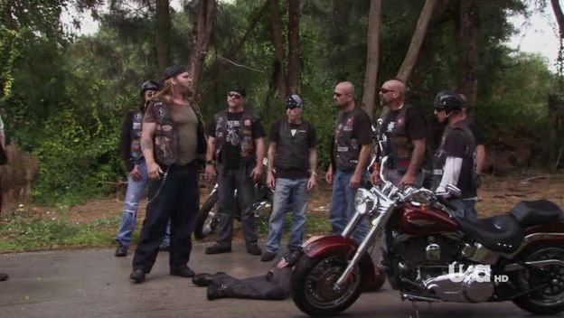 Softail Fat Boy in Burn Notice