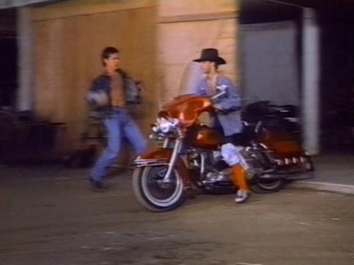 Electra Glide in City Limits