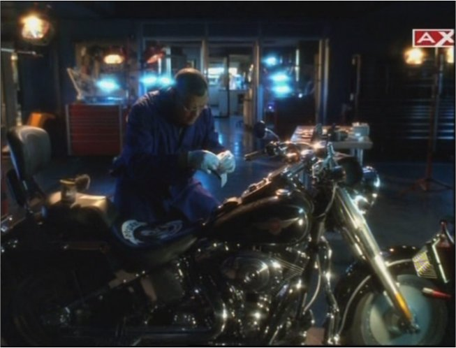 Softail Fat Boy in CSI: Crime Scene Investigation