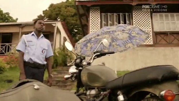 Bonneville in Death in Paradise