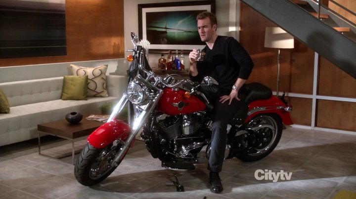 Softail Fat Boy in Don't Trust the B---- in Apartment 23
