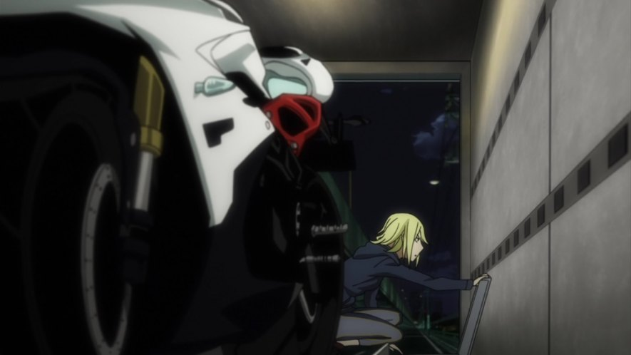 Daytona 675 in Durarara!!x2