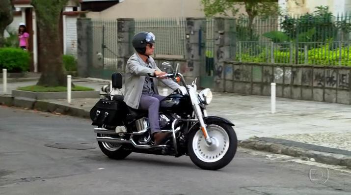 Softail Fat Boy in Fina Estampa