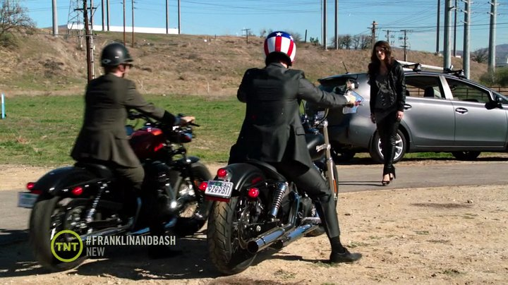 Dyna Street Bob in Franklin & Bash