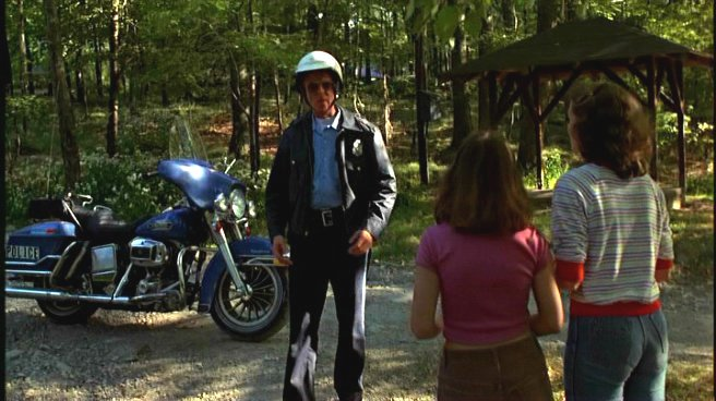 Electra Glide in Friday the 13th