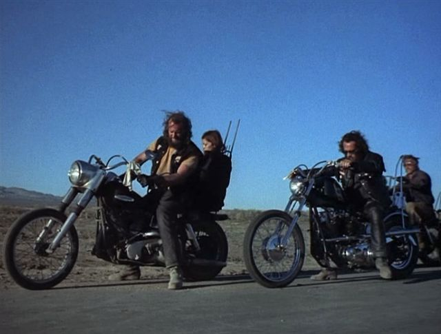 Electra Glide in Hell's Angels '69