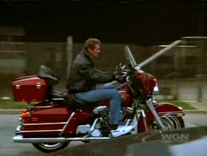 Electra Glide in In the Heat of the Night