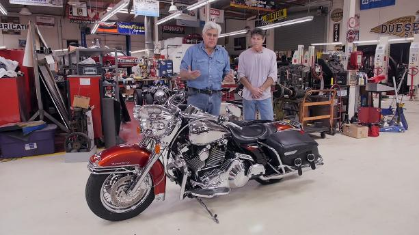 Road King in Jay Leno's Garage