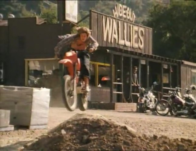 XR250 in Kickboxer 4: The Aggressor