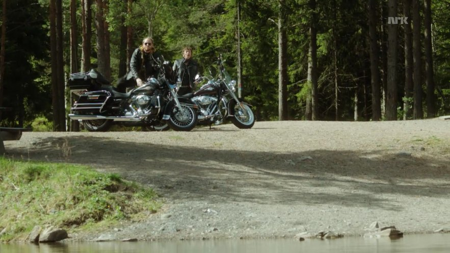 Electra Glide in Lilyhammer