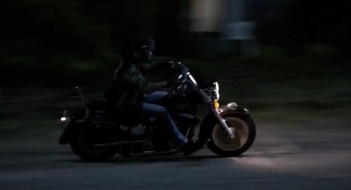 Softail Fat Boy in Major Crimes