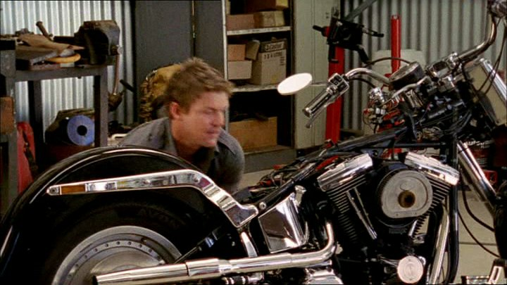 Softail Fat Boy in McLeod's Daughters