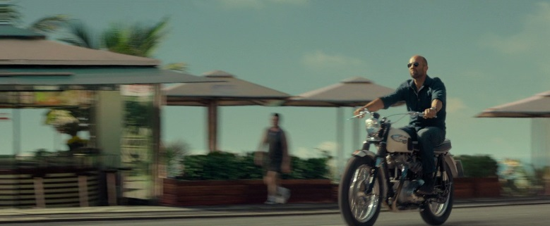 Bonneville in Mechanic: Resurrection
