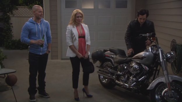 Softail Fat Boy in Melissa & Joey