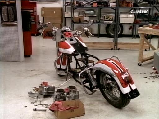 Electra Glide in Melrose Place