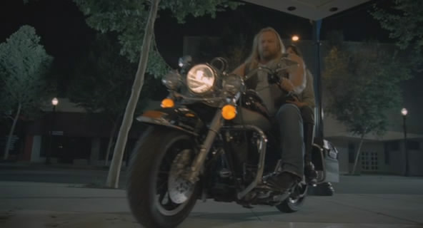 Road King in Midnight Movie