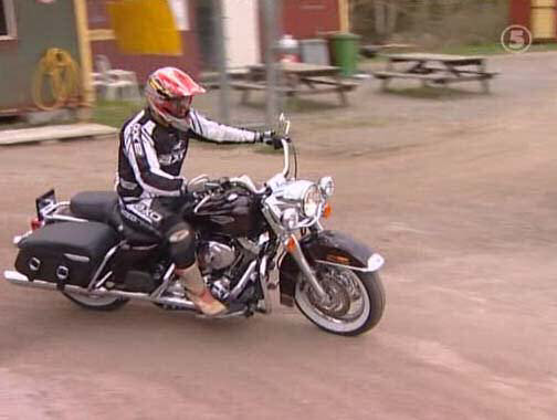 Road King in Monster Garage (Sweden)
