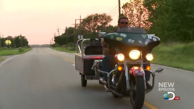 Electra Glide in Moonshiners