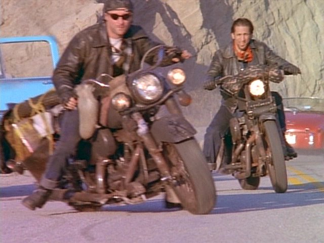 Electra Glide in Motorcycle Gang