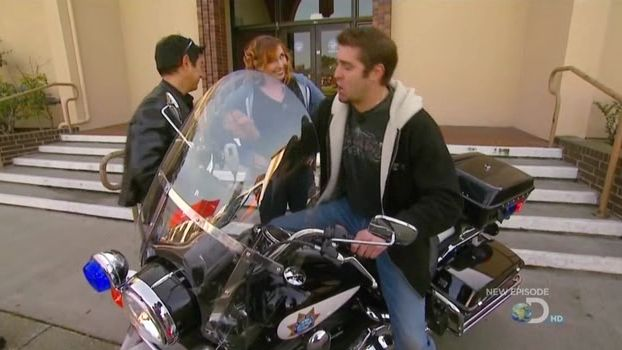 Electra Glide in MythBusters