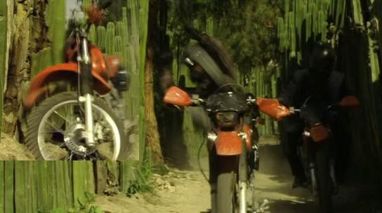 XR250 in Once Upon a Time in Mexico