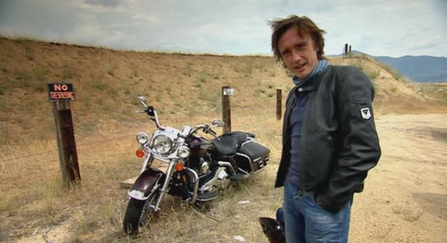 Road King in Richard Hammond Meets Evel Knievel