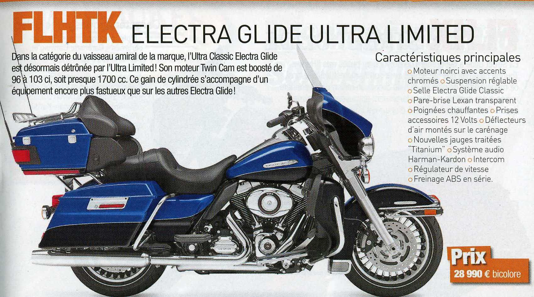 Electra Glide in RTL Autowereld