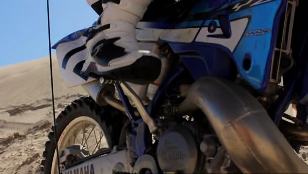 YZ250 in Sand Sharks