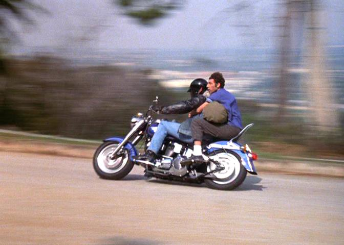 Softail Fat Boy in Seinfeld