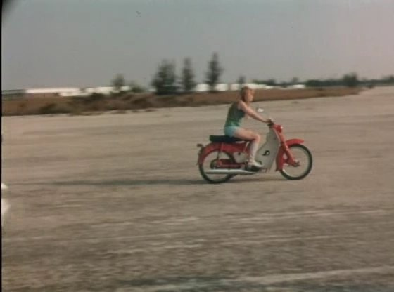 Super Cub110 in She-Devils on Wheels