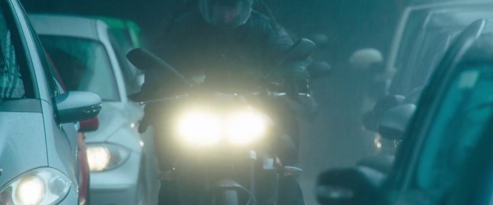Street Triple in Spooks: The Greater Good