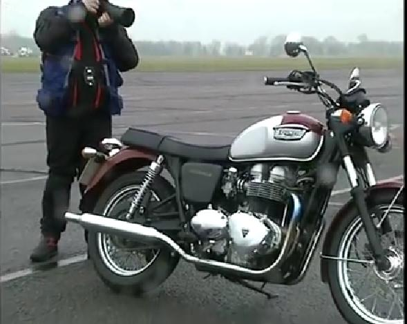 Bonneville in Story of the Triumph Bonneville