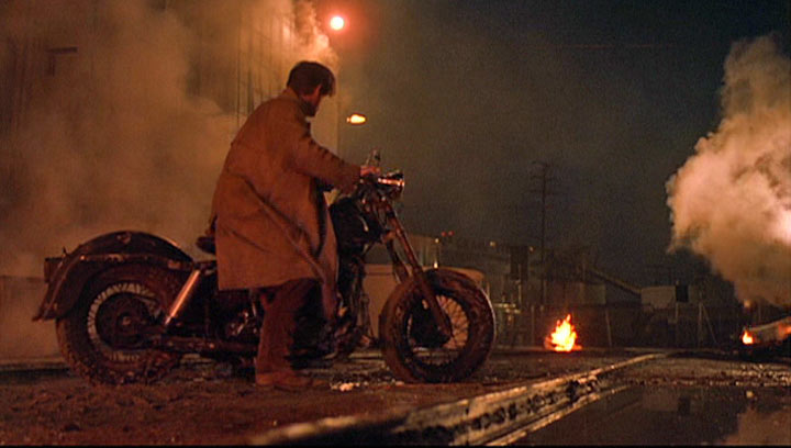 Electra Glide in Streets of Fire