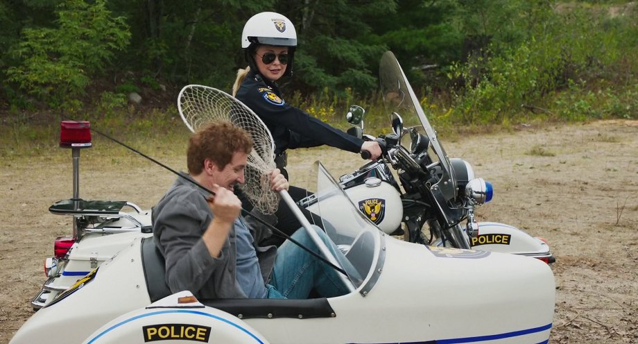 FLHP Road King in Super Troopers 2