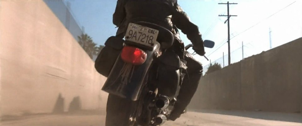 Softail Fat Boy in Terminator 2: Judgment Day