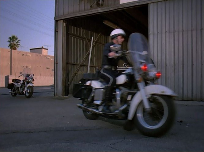 Electra Glide in The Bionic Woman