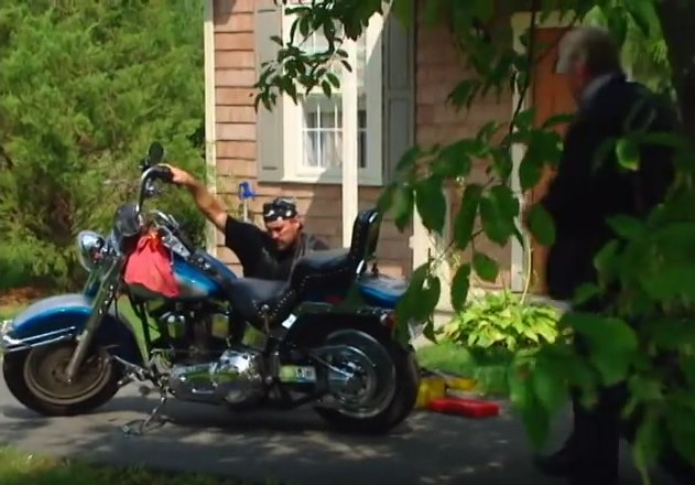 Softail Fat Boy in The F.B.I. Files