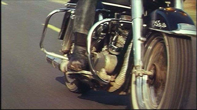 Electra Glide in The Girl on a Motorcycle