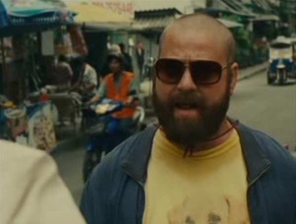 Wave in The Hangover Part II