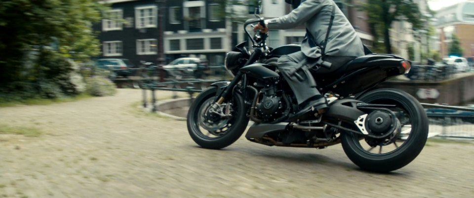Speed Triple in The Hitman's Bodyguard